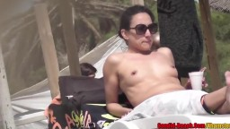Sexy Bikini Topless Milfs Round Ass Big tits tanning Naked