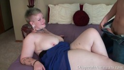 Fat chick named Tarra gets properly fucked in bed