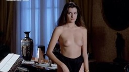 Hot Brunette Florence Guerin Trina Michelsen Nude from La bonne